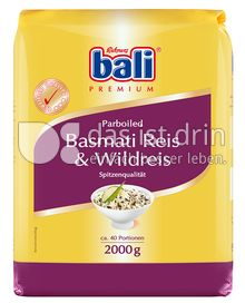 Produktabbildung: bali Basmati mit Wildreis 2 kg