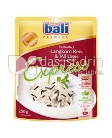 Produktabbildung: bali Express Langkorn Reis parboiled & Wildreis 250 g