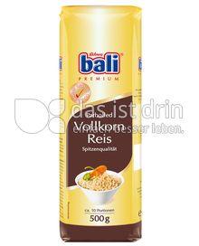 Produktabbildung: bali Vollkorn Reis parboiled 500 g