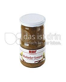 Produktabbildung: Hof Rhabarberkompott 370 ml