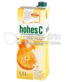 Produktabbildung: hohes C Milde Orange 1,5 l