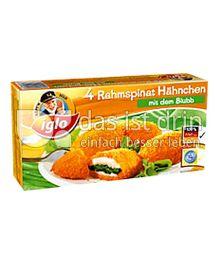 Produktabbildung: iglo Rahmspinat Hähnchen 4 St.