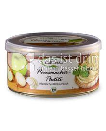 Produktabbildung: BIONOR Culinessa Pastete Hausmacher 125 g