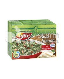 Produktabbildung: iglo Blattspinat mit Mozzarella 300 g