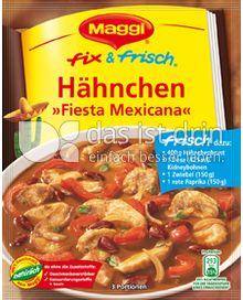 Produktabbildung: Maggi fix & frisch Hähnchen »Fiesta Mexicana« 37 g