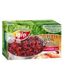 Produktabbildung: iglo Apfelrotkohl 750 g
