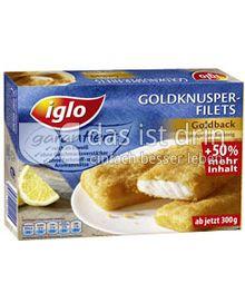 Produktabbildung: iglo Goldknusper-Filets Goldback 300 g