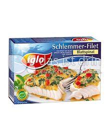 Produktabbildung: iglo Schlemmer-Filet Blattspinat 380 g