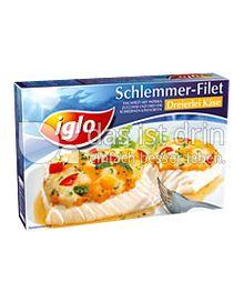 Produktabbildung: iglo Schlemmer-Filet Dreierlei Käse