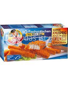 Produktabbildung: iglo Fischstäbchen 10 St.