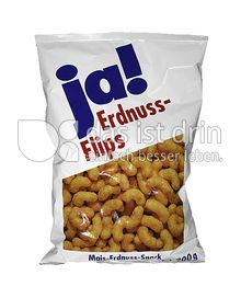 Produktabbildung: ja! Erdnuss-Flips 200 g