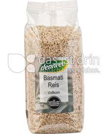 Produktabbildung: dennree Basmati Reis Vollkorn 1 kg