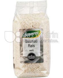 Produktabbildung: dennree Basmati Reis weiß 1 kg