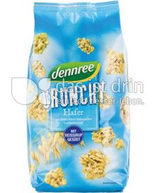Produktabbildung: dennree Hafer-Crunchy mit Reissirup gesüßt 750 g