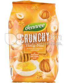 Produktabbildung: dennree Honig-Nuss-Crunchy mit Reissirup und Honig gesüßt 375 g