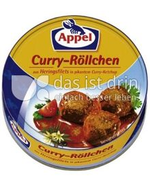 Produktabbildung: Appel Curry-Röllchen aus Heringsfilets 200 g