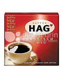 Produktabbildung: Kaffee Hag Klassisch Mild 500 g