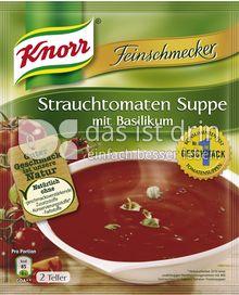 Produktabbildung: Knorr Feinschmecker Strauchtomaten Suppe mit Basilikum 500 ml