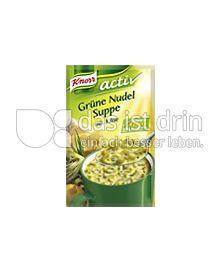 Produktabbildung: Knorr activ Grüne Nudelsuppe mit Käse 200 ml