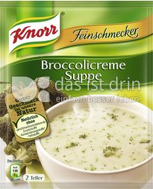 Produktabbildung: Knorr Feinschmecker Broccolicreme Suppe 500 ml