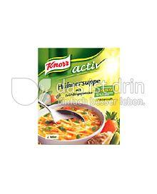 Produktabbildung: Knorr Aktiv Hühnersuppe 450 ml