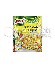 Produktabbildung: Knorr Buchstabensuppe 1 l