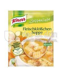 Produktabbildung: Knorr Suppenliebe Fleischklößchensuppe