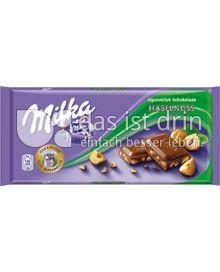 Produktabbildung: Milka Haselnuss 100 g