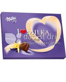 Produktabbildung: Milka I love Milka Crème à la Vanille Pralinés 150 g