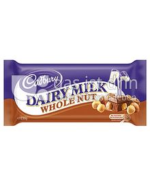 Produktabbildung: Cadbury Dairy Milk  Whole Nut 250 g