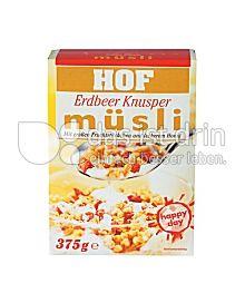 Produktabbildung: Hof Erdbeer Knusper Müsli 375 g