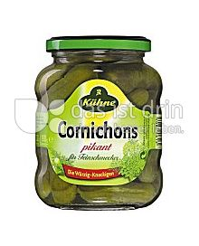 Produktabbildung: Kühne Cornichons 370 ml