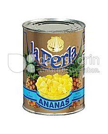 Produktabbildung: La Perla Ananas Stücke 580 ml
