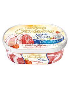 Produktabbildung: Langnese Cremissimo Leichter Genuss  Erdbeer mit Joghurt 900 ml