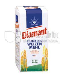 Produktabbildung: DIAMANT Dunkles Weizenmehl Type 1050 1000 g