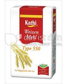 Produktabbildung: Kathi Weizenmehl Type 550 1000 g