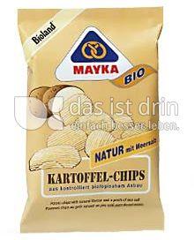 Produktabbildung: MAYKA Bio Kartoffel-Chips Natur 125 g