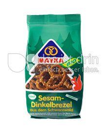 Produktabbildung: MAYKA Bio Sesam-Dinkelbrezel 125 g