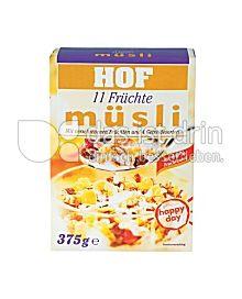 Produktabbildung: Hof Früchte Müsli 375 g