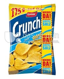 Produktabbildung: Lorenz Crunchips X-Cut Ready Salted 175 g