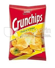 Produktabbildung: Lorenz Crunchips Cheese & Onion 200 g