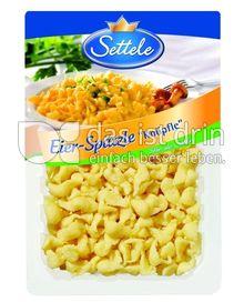Produktabbildung: Settele Eier-Spätzle 500 g
