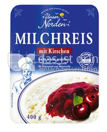 Produktabbildung: UNSER NORDEN MILCHREIS MIT KIRSCHSAHNE 400 g