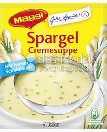 Produktabbildung: Maggi Guten Appetit Spargel Cremesuppe 75 g