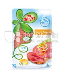 Produktabbildung: Du darfst Puten Salami 100 g