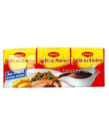 Produktabbildung: Maggi Soße zu Braten 3er-Pack 60 g