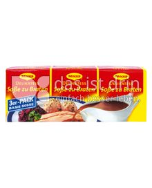Produktabbildung: Maggi Delikatess Soße zu Braten 3er-Pack 69,3 g