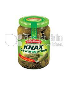 Produktabbildung: Hengstenberg Knax Gewürzgurken 720 ml