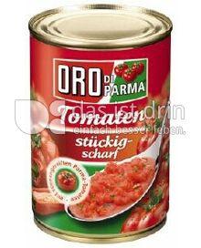 Produktabbildung: Hengstenberg Tomaten stückig-scharf 425 ml