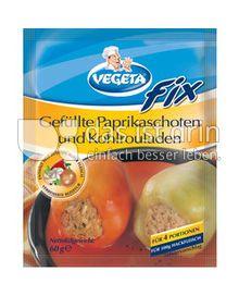 Produktabbildung: Podravka VEGETA  FIX Gefüllte Paprikaschoten und Kohlrouladen 60 g